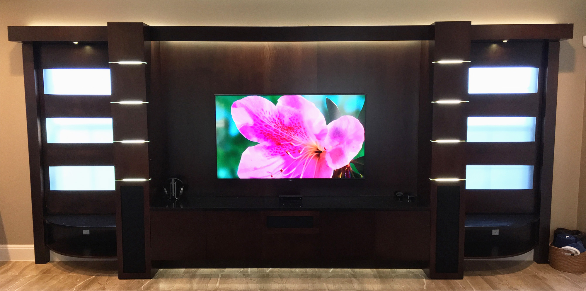 Charmant Entertainment Center, Home Theater Units, Wall Units, TV ...