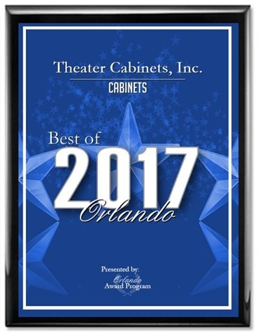 Best of Orlando Award, Theater Cabinets, Inc.